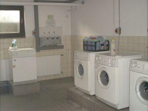 Waschmaschinen in einem der Waschkeller