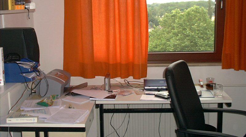 Fenster im früheren Zimmer